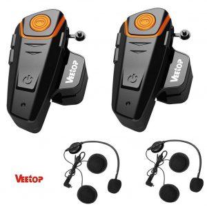 Veetop Interfono Moto: adatto per 2-3 motociclisti