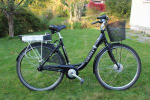 esempio di bicicletta elettrica