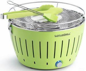 LotusGrill barbecue senza fumo verde