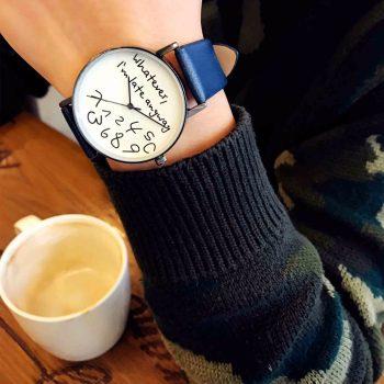 Come si porta un orologio da polso?