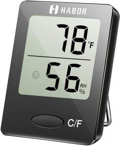 L'igrometro termometro Habor