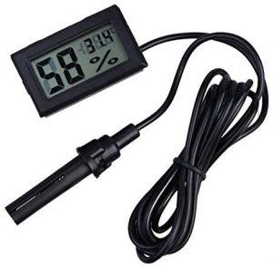 WINGONEER® 2-in-1 Digital LCD - il migliore igrometro con sonda