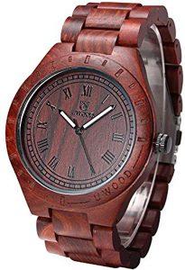 Orologio legno Uwood