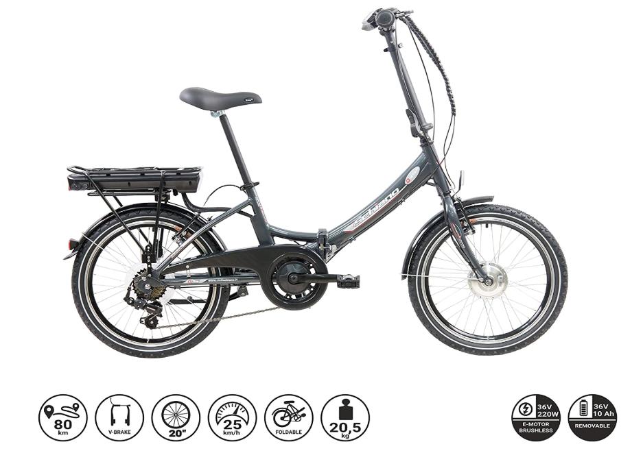 F.lli Schiano E-Star bicicletta elettrica pieghevole