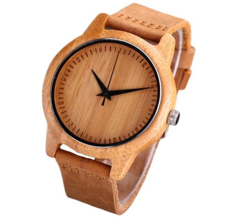 Orologio in legno Hembollo