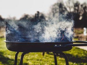 Grill che fa fumo