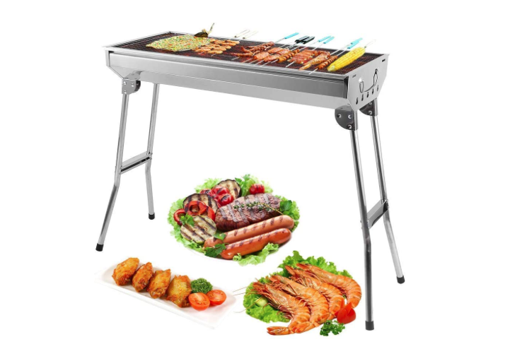 Mbuynow Barbecue Griglia a Carbone Professionale