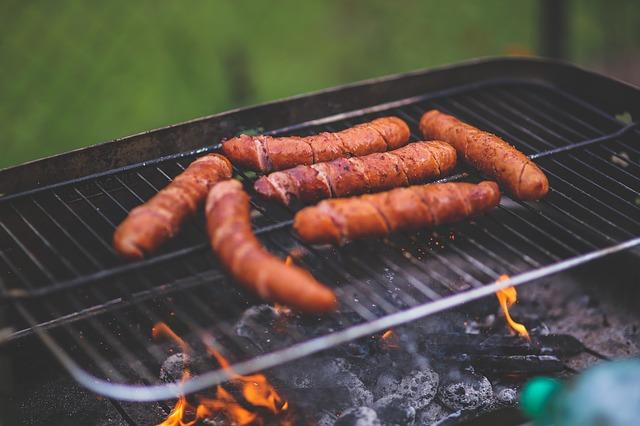 Salsicce grigliate