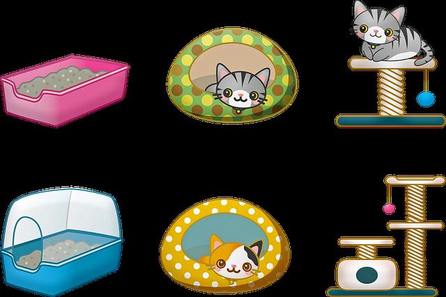 diversi tipi di lettiera per gatti