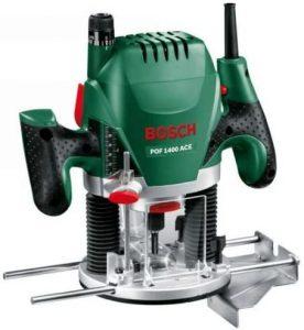 Fresatrice Bosch verticale 1400, verde