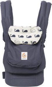 marsupio per neonati Ergobaby ergonomico e transpirante blu