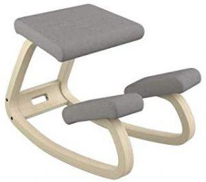 sgabello regolabile con cuscino in schiuma modellata e asta idraulica e ruota con asta idraulica sedia correttiva posturale Oliote Sedia ergonomica inginocchiatoio sedia inginocchiatoio angolato
