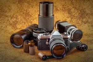 fotocamera analogica obiettivi